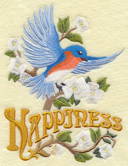 Bluebird of happiness wwwemblibrarycomELProductimagesE6277jpg