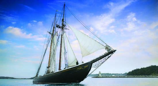 Bluenose Bluenose II Schooner Lunenburg Nova Scotia39s Famous Tall Ship