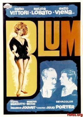Blum (film) movie poster