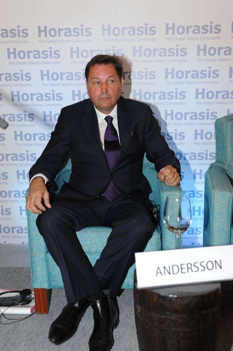 Bo Andersson (businessman) FileBo Inge Andersson Chief Executive Officer Gaz Group Russia