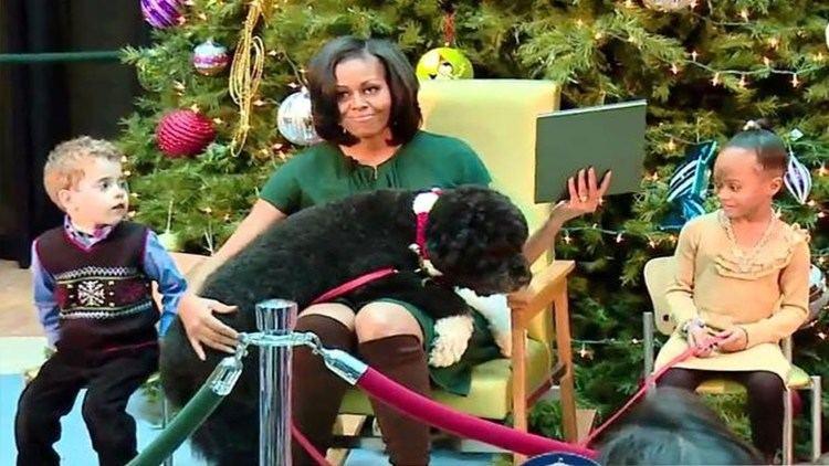 Bo (dog) Michelle Obama and Bo The Dog Hilarious YouTube