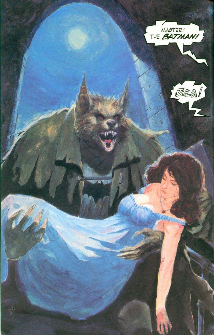 Bo Hampton Monday Batpage Comics Astonish