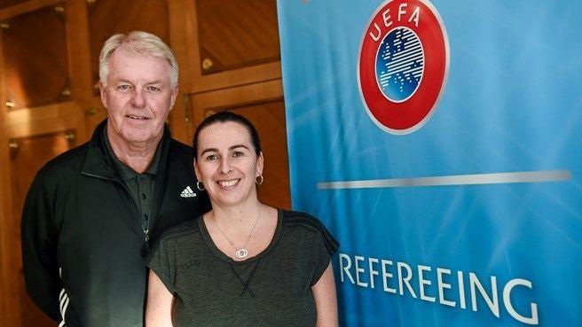 Bo Karlsson Bo Karlsson Dagmar Damkov UEFA referees course UEFAcom