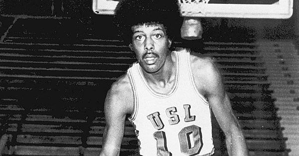 Bo Lamar Ragin Cajun Great Bo Lamar On The Jump Shot Basketball Today USL