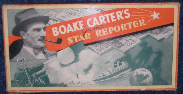 Boake Carter Game Classics Boake Carters Star Reporter Gamers Alliance
