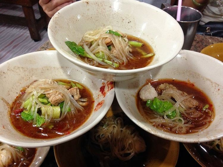 Boat noodles FoodieFC The Best Of The Boat Noodles near Victory Monument