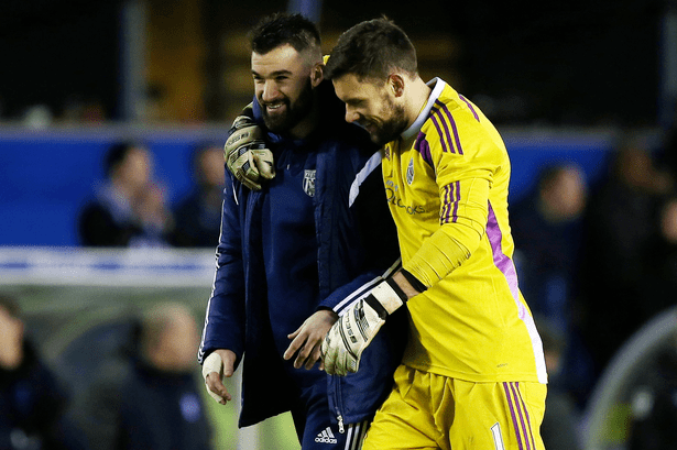 Boaz Myhill West Brom Ben Foster or Boaz Myhill to start against Villa Youve