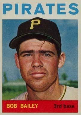 Bob Bailey (baseball) 1964 Topps Bob Bailey 91 Baseball Card Value Price Guide
