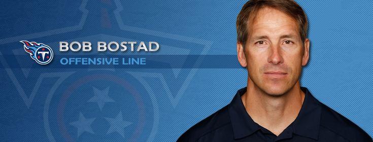 Bob Bostad Tennessee Titans Bob Bostad