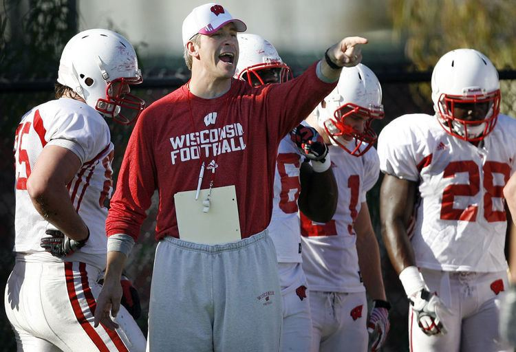 Bob Bostad Badgers football Wisconsin assistant Bob Bostad set for move to