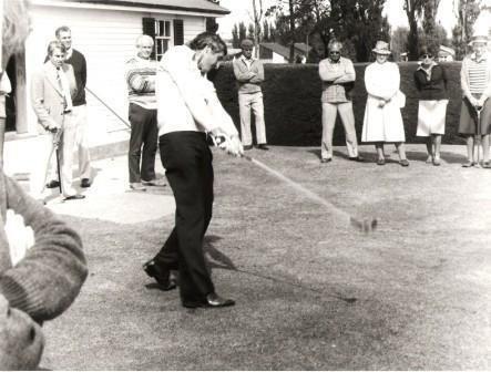 Bob Charles (golfer) Sir bob charles Christchurch Golf Club