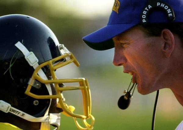 Bob Crable Moeller coach Bob Crable draws spotlight