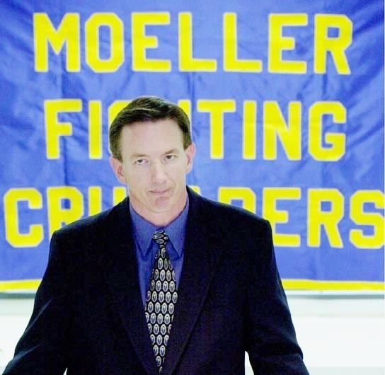 Bob Crable Crable takes Moeller torch