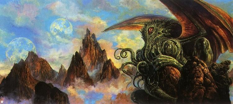 Bob Eggleton cthulhu by Bob Eggleton Featured Artist on the Fantasy Gallery