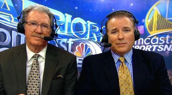Bob Fitzgerald Bay Area Sports Guy Greg Papa compliments Rosalyn Gold