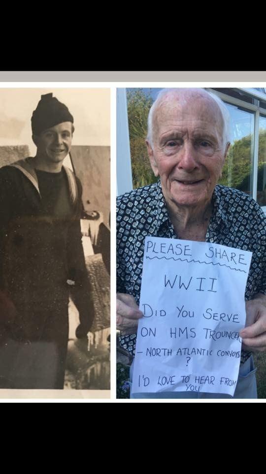 Bob Flegg Bob Flegg aged 92 is looking for old shipmates from WWII Album