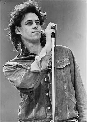 Bob Geldof Bob Geldof lead singer of The Boomtown Rats Sir Bob Geldof
