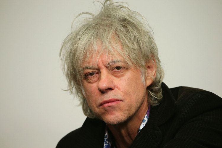Bob Geldof Bob Geldof speaks publicly for the first time since