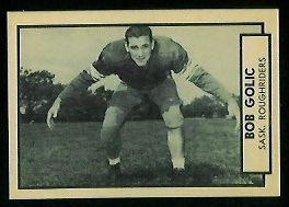 Bob Golic (Canadian football) Bob Golic 1962 Topps CFL 122 Vintage Football Card Gallery