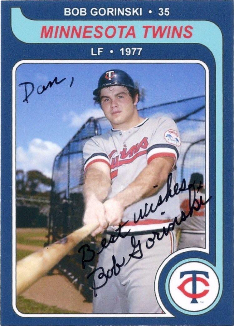 Bob Gorinski Minnesota Sports Autograph Project BOB GORINSKI