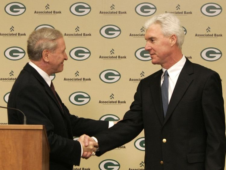 Bob Harlan Jan 14 2005 Packers sign Thompson to fiveyear deal as GM