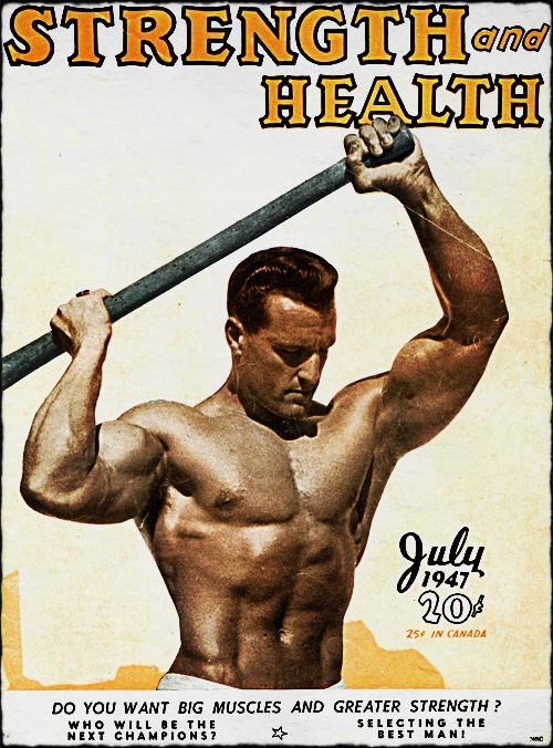 Bob Hoffman (sports promoter) Bob Hoffman Father of Weightlifting Muscle Old School
