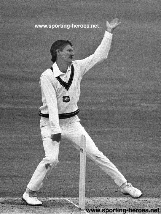 Bob HOLLAND Test Profile for Cricket Australia 19841986 Australia