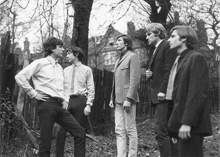 Bob Klose Pink FloydThe Tea Set in 1965 with Bob Klose pinkfloyd