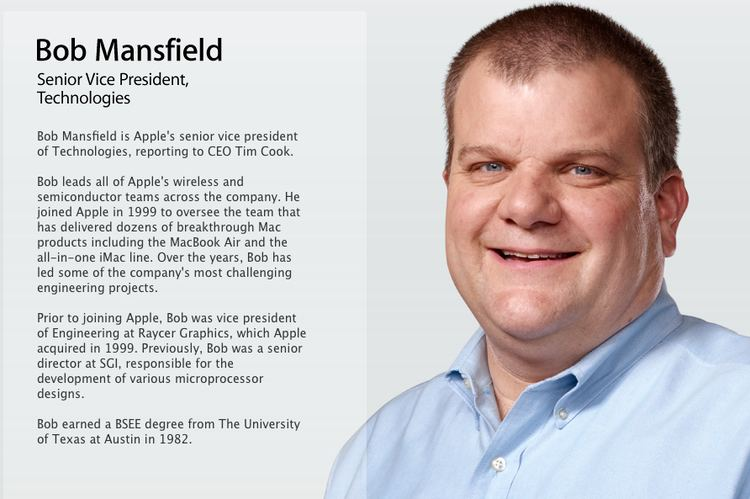 Bob Mansfield Apple Says SVP Bob Mansfield quotNo Longerquot on Executive Team