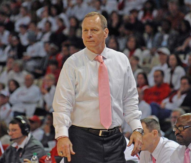 Bob Marlin LouisianaLafayette basketball coach Bob Marlin beaming about Shawn