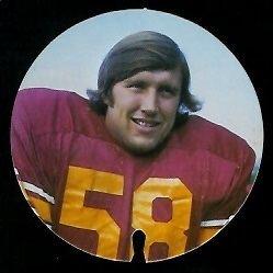 Bob McCaffrey wwwfootballcardgallerycom1974USCDiscs17Bob