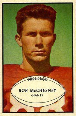 Bob McChesney (American football, born 1926)