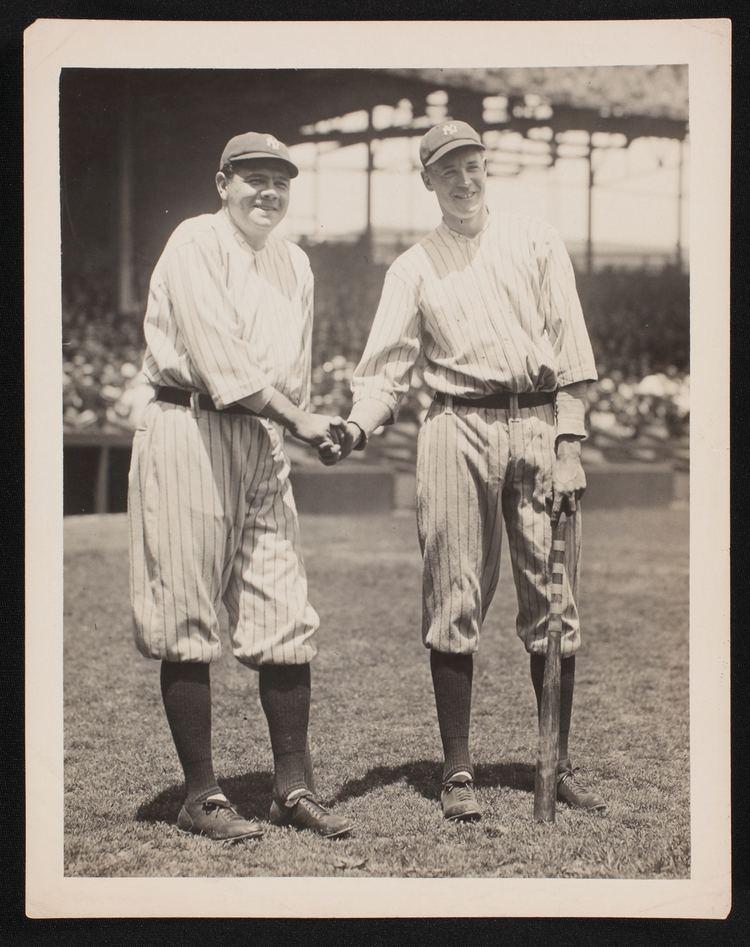 Bob Meusel Babe Ruth and Bob Meusel Our Game
