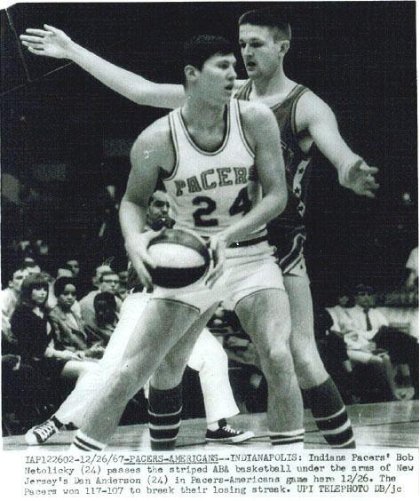 Bob Netolicky ABA American Basketball Association PlayersBob Netolicky