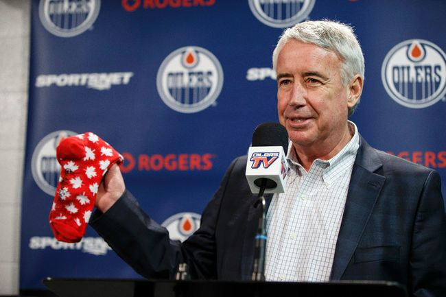Bob Nicholson (ice hockey) Terry Jones Oilers Bob Nicholson quite likely could have