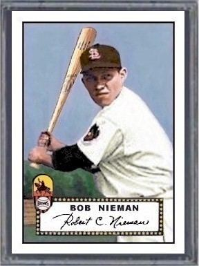 Bob Nieman BobNiemanCardPage