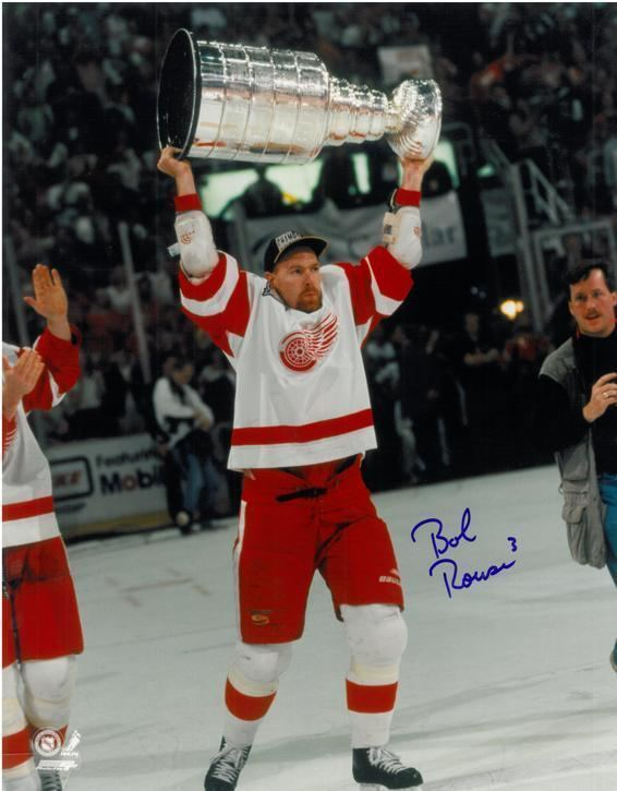 Bob Rouse Bob Rouse Autographed Detroit Red Wings 11x14 Photo