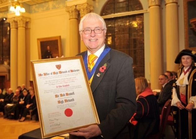 Bob Russell (television presenter) Former MP Sir Bob Russell becomes High Sheriff of Colchester