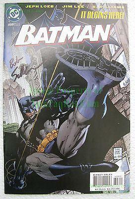 Bob Schreck Batman 608 VHTF Signed DC Editor Bob Schreck HUSH Storyline Jim Lee