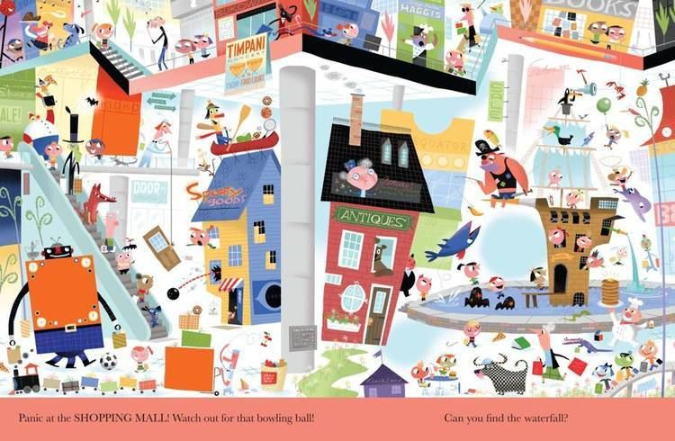 Bob Staake look another book illustration by bob staake Orange