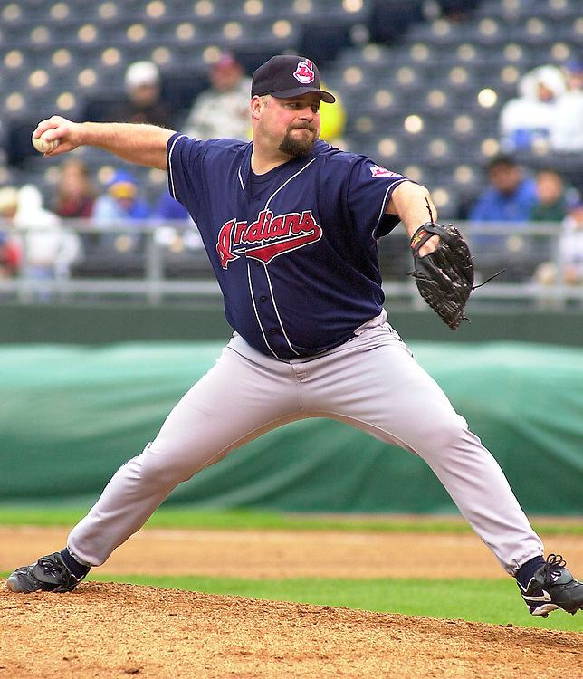 Bob Wickman Indians right handed pitcher Bob Wickman Barry Taylor