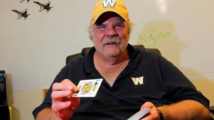 Bob Wylie Meet the magician Bombers offensive line coach Bob Wylie YouTube