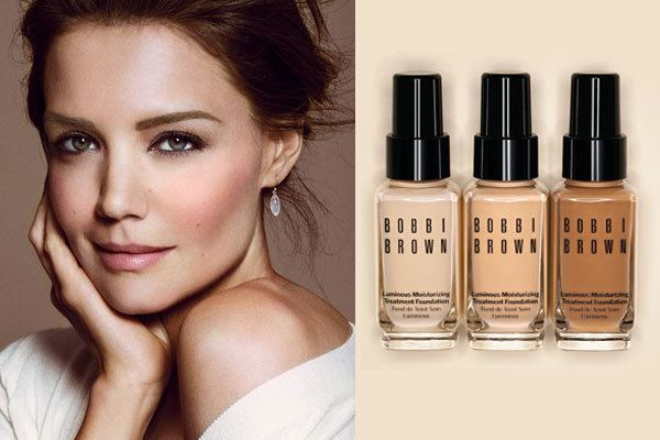 Bobbie Brown Katie Holmes Actress Celebrity Endorsements Celebrity