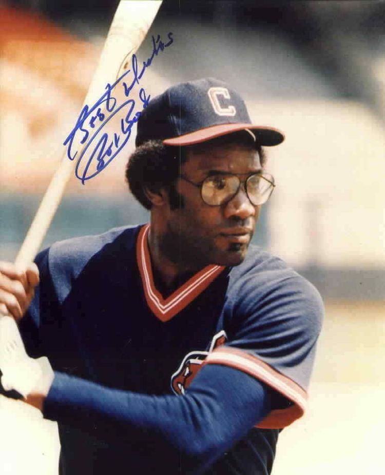 Bobby Bonds Bobby Bonds autographed Cleveland Indians 8x10 photo Retired