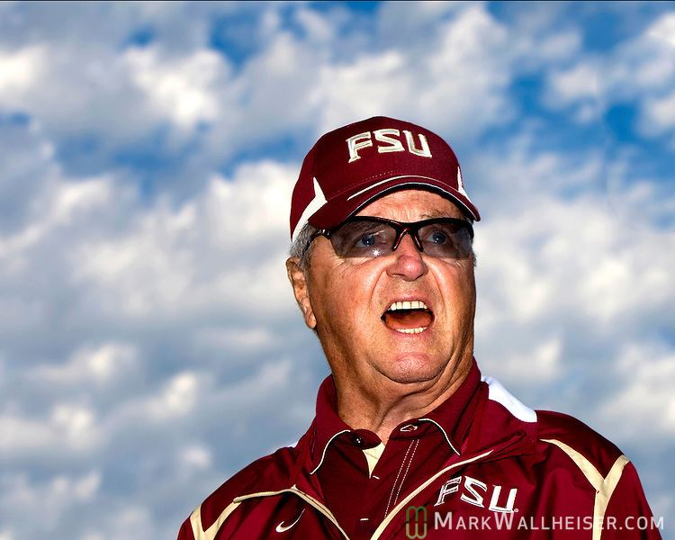 Bobby Bowden Florida State head coach Bobby Bowden speaks to his team