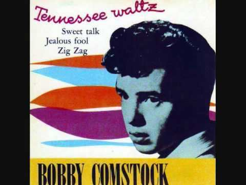 Bobby Comstock Bobby Comstock and the Counts Tennessee Waltz 1959