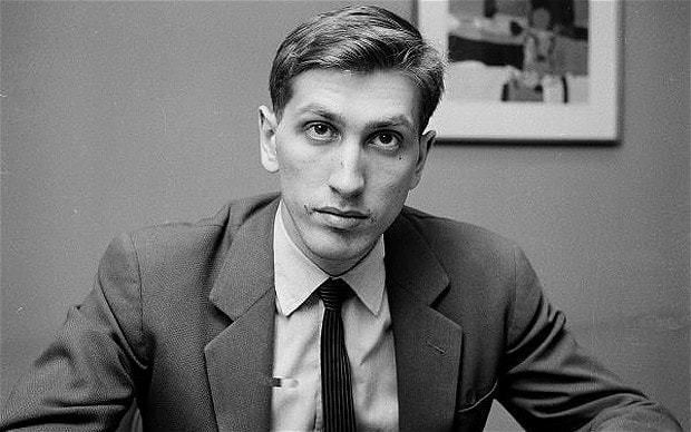 Bobby Fischer Bobby Fischer on screen and a chess movie from New
