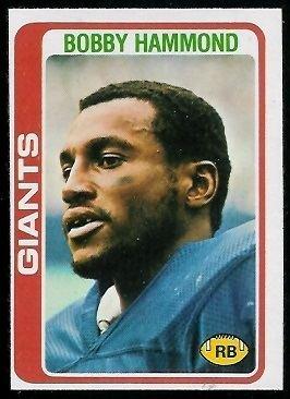 Bobby Hammond wwwfootballcardgallerycom1978Topps352BobbyH