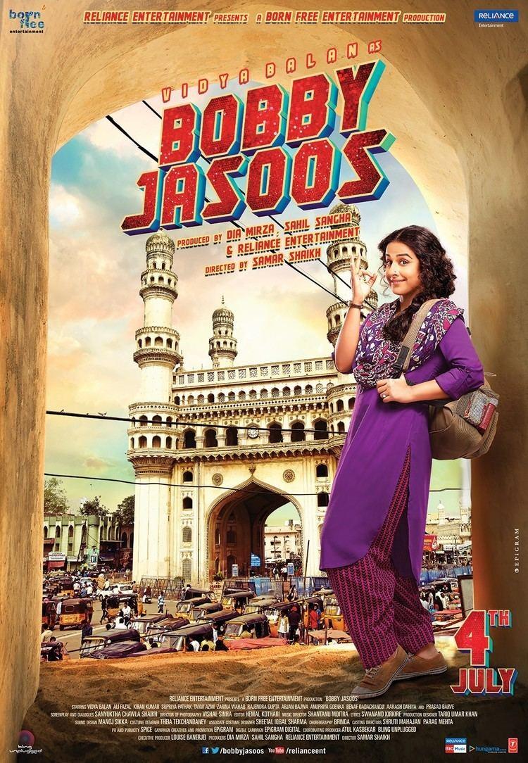 Bobby Jasoos Movie Poster 2 of 6 IMP Awards