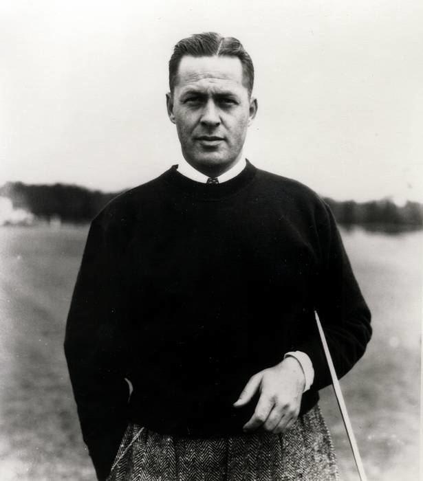 Bobby Jones (golfer) Vintage Golfer Bobby Jones Black Watch